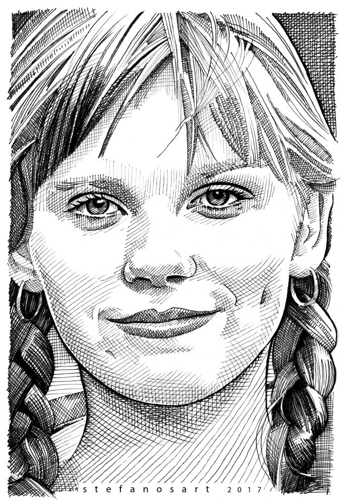 Kirsten Dunst by Stefanosart